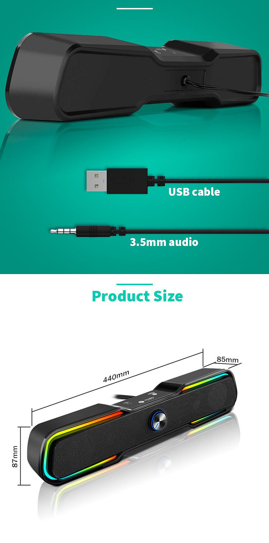 Maro Bluetooth Surround Soundbar Detail 06