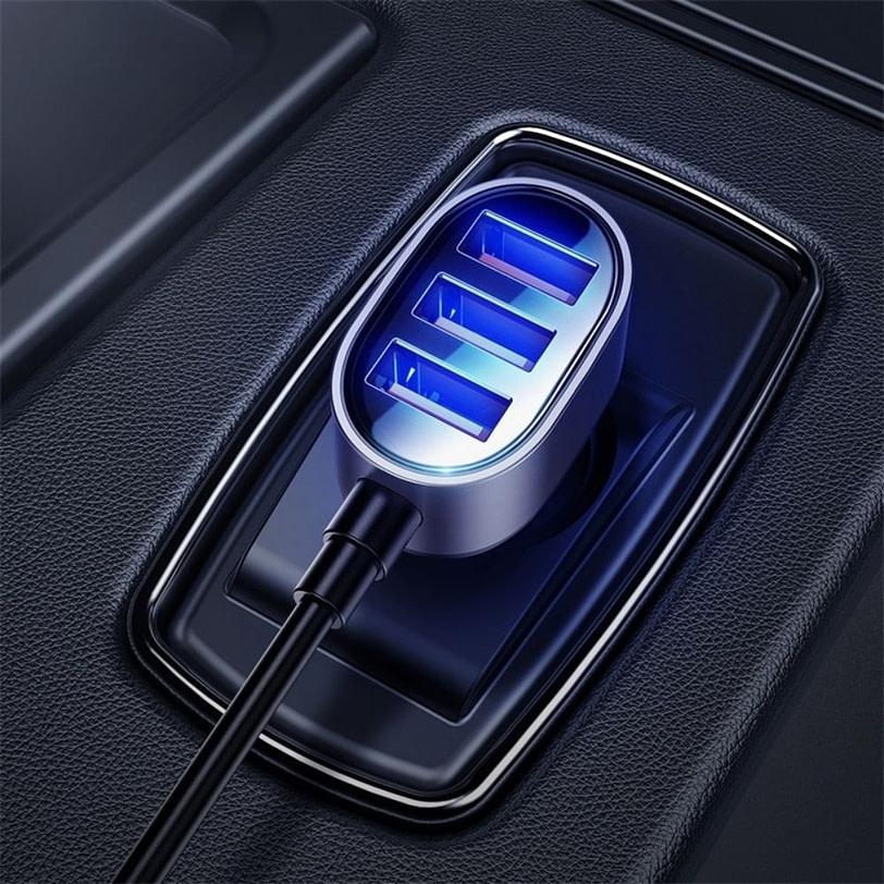 Joyroom JR CL03 5 Multi Ports USB Car Charger 9 1
