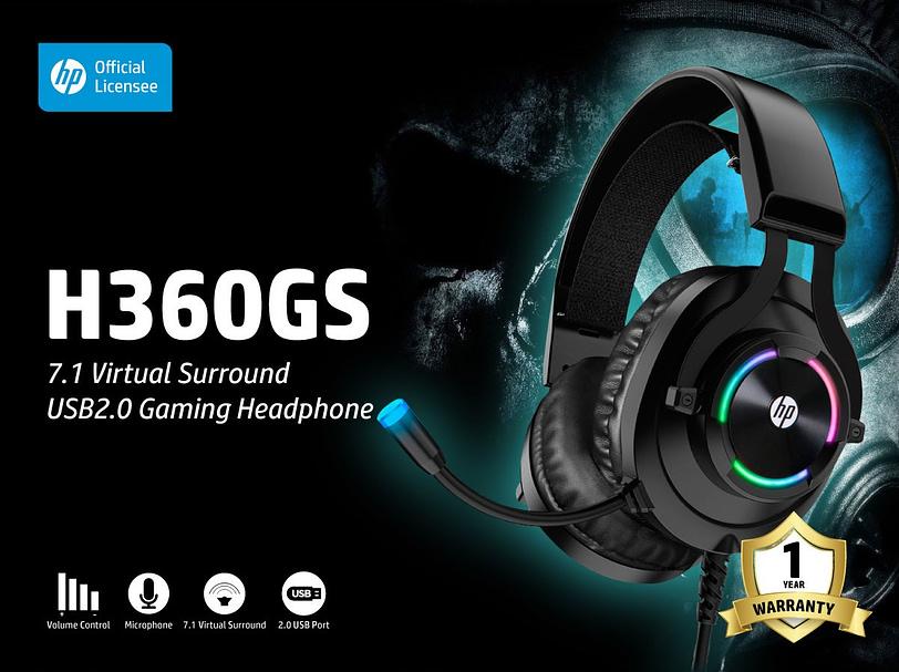 HP RGB Gaming Headphone