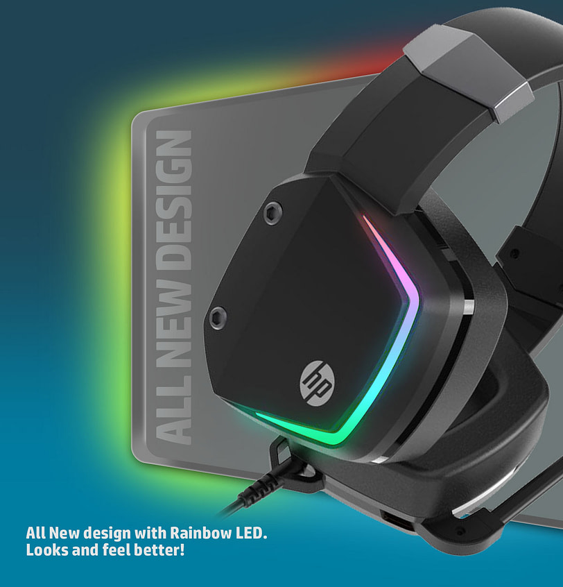 HP H320GS Stereo Gaming Headset with Microphone 5