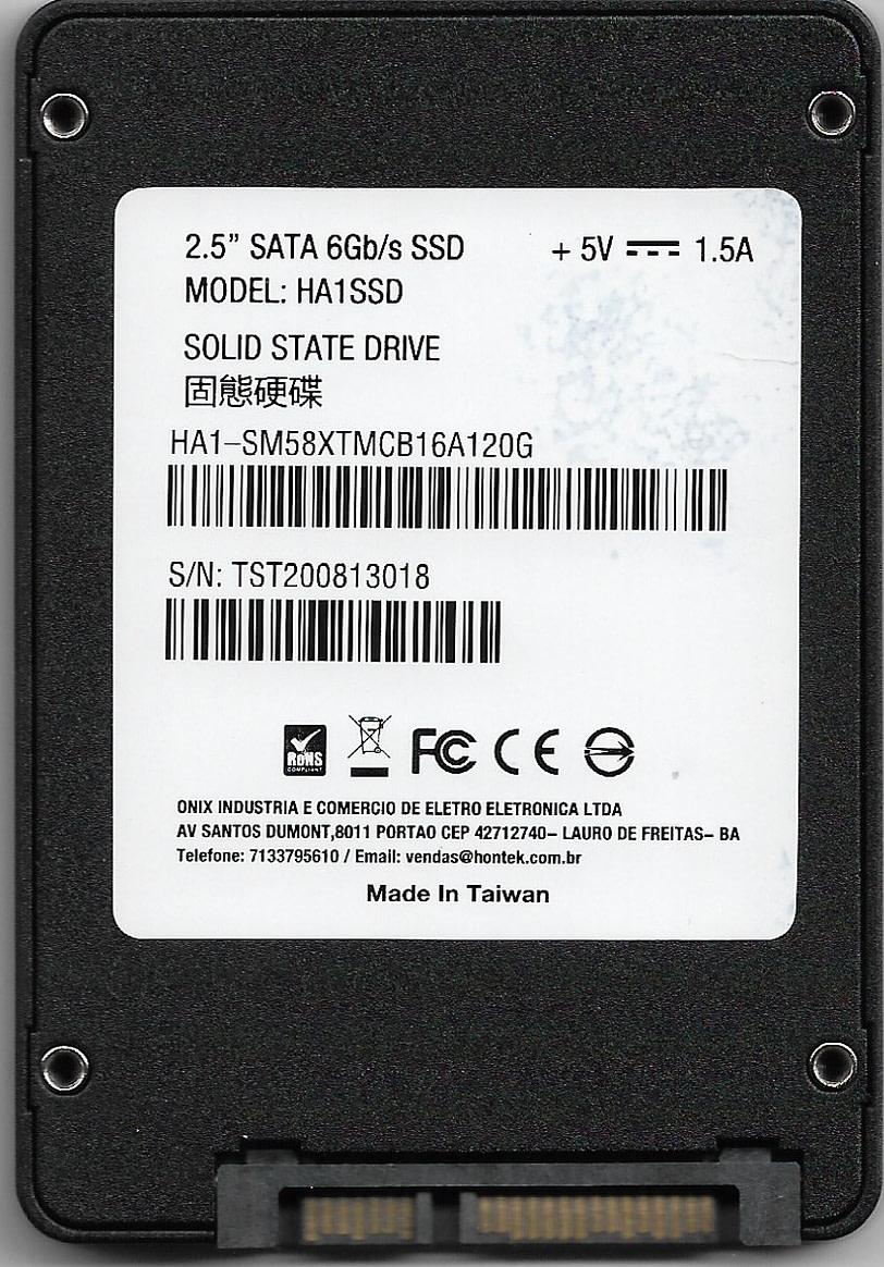 "Hontek 2.5"" SSD SATAIII"
