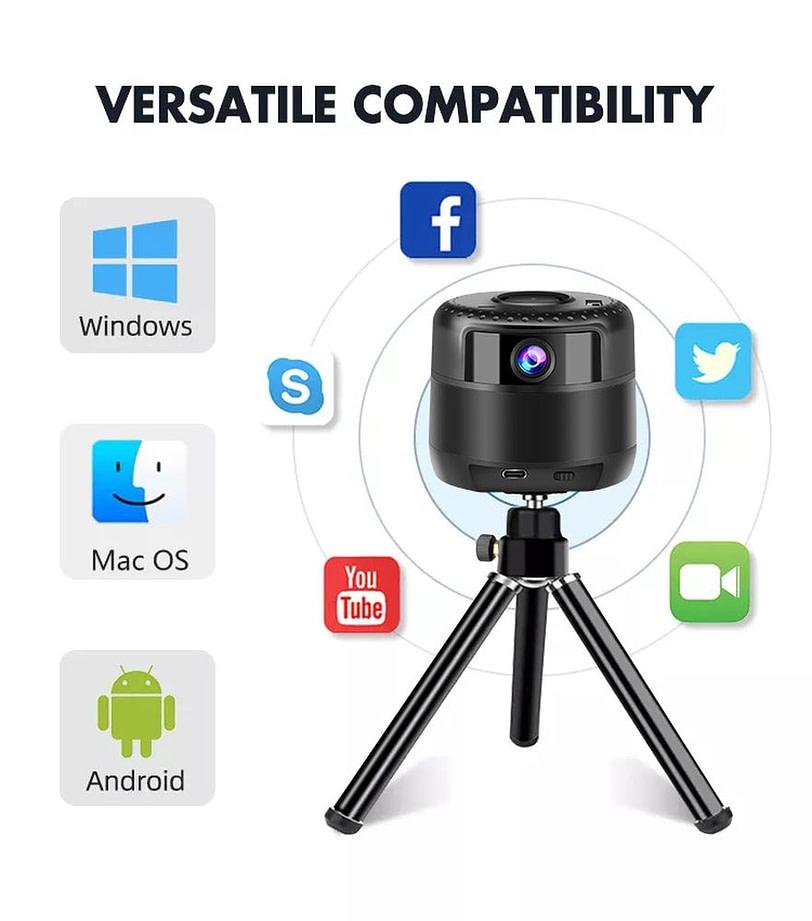 AI webcam WL 031 Smartphone Tripod Holder Action Camera 10