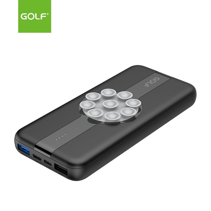 Golf PB W21 Fast Charge Wireless Power Bank Portable Charger 2 1