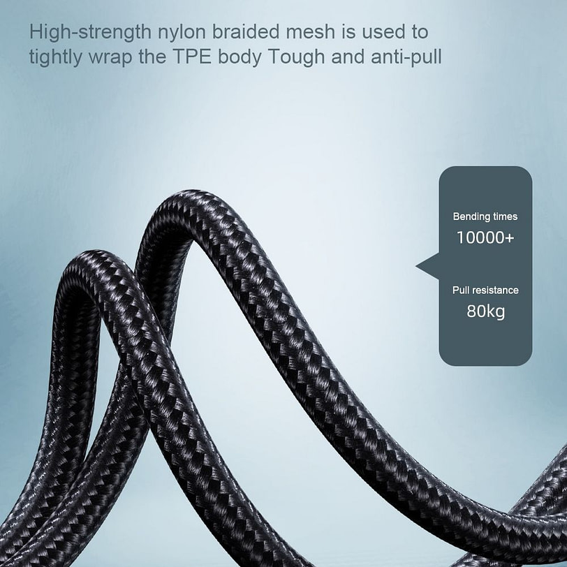 Joyroom S 1230N4L 1.2m iPhone Charger Lightning Cable Dark Gray 20