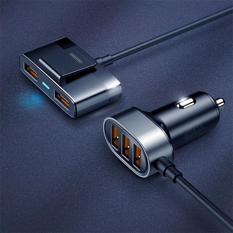 Joyroom JR CL03 5 Multi Ports USB Car Charger 5 1