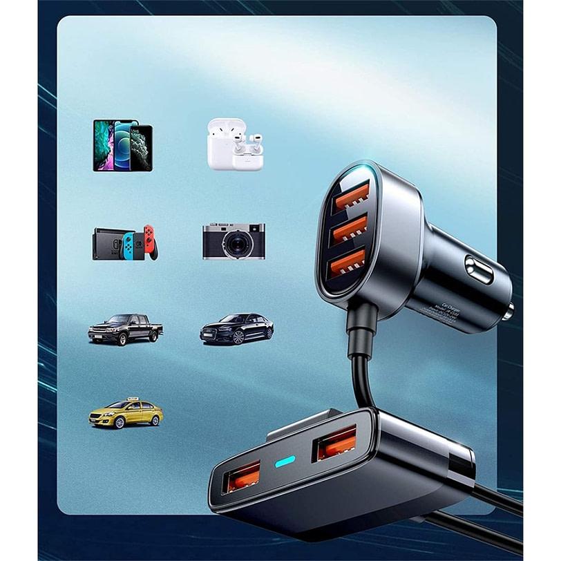 Joyroom JR CL03 5 Multi Ports USB Car Charger 8 1