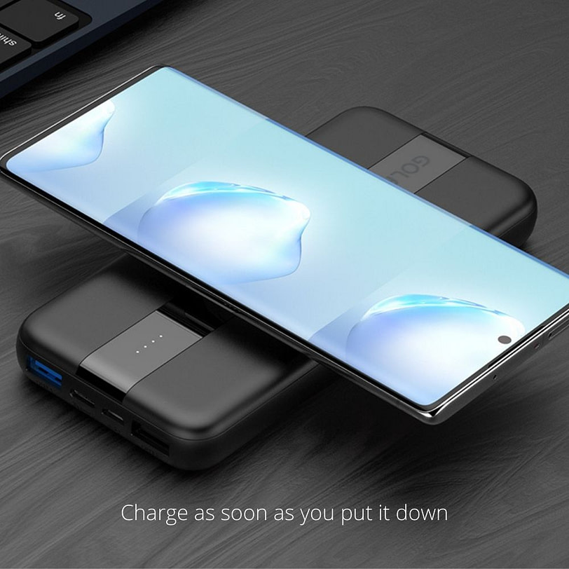 Golf PB W21 Fast Charge Wireless Power Bank Portable Charger 5 2