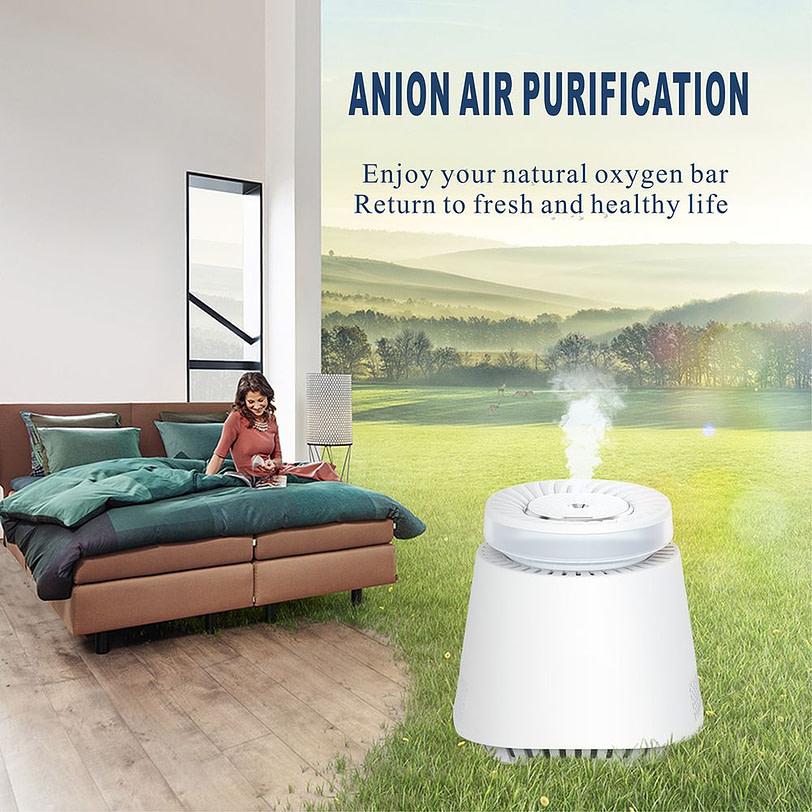 K9 Air Humidifier Indoor Air Purifier White 17 3