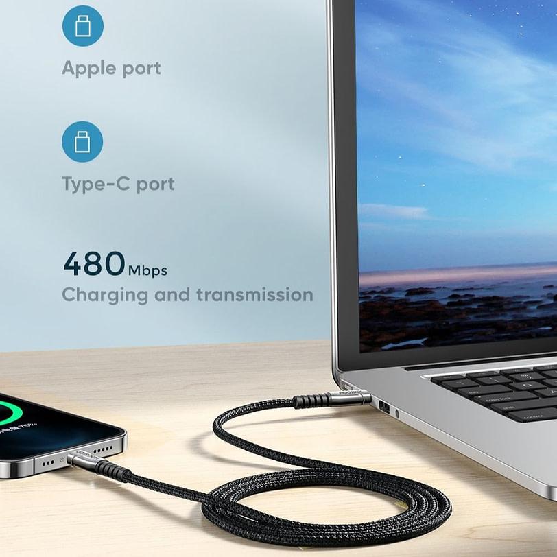 Joyroom S 1830K1 Braid USB C Extension Charging Cable 10 1