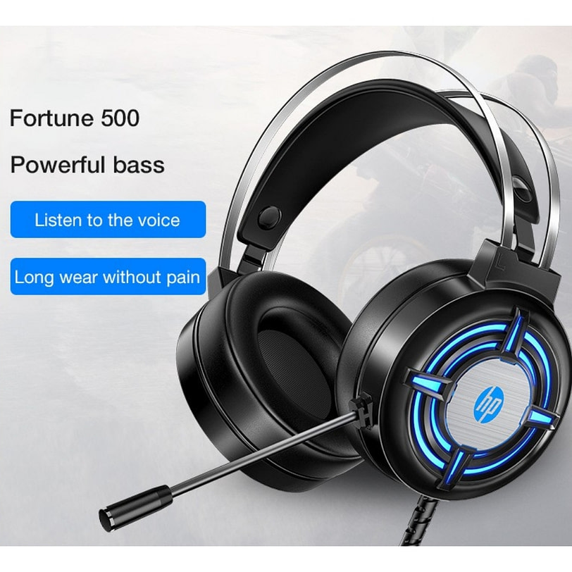 HP H120 Wired Gaming Headset 9 1