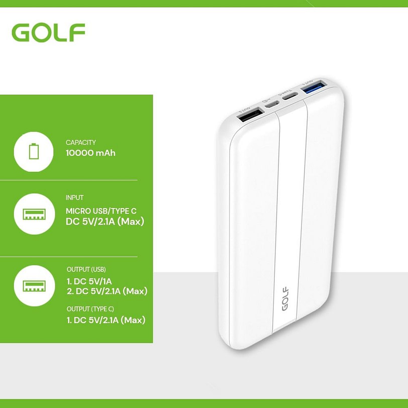 Golf PB G92PD Fat Charge Power Bank Portable Charger 11