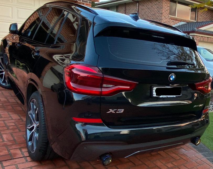 BMW X3 Exhaust