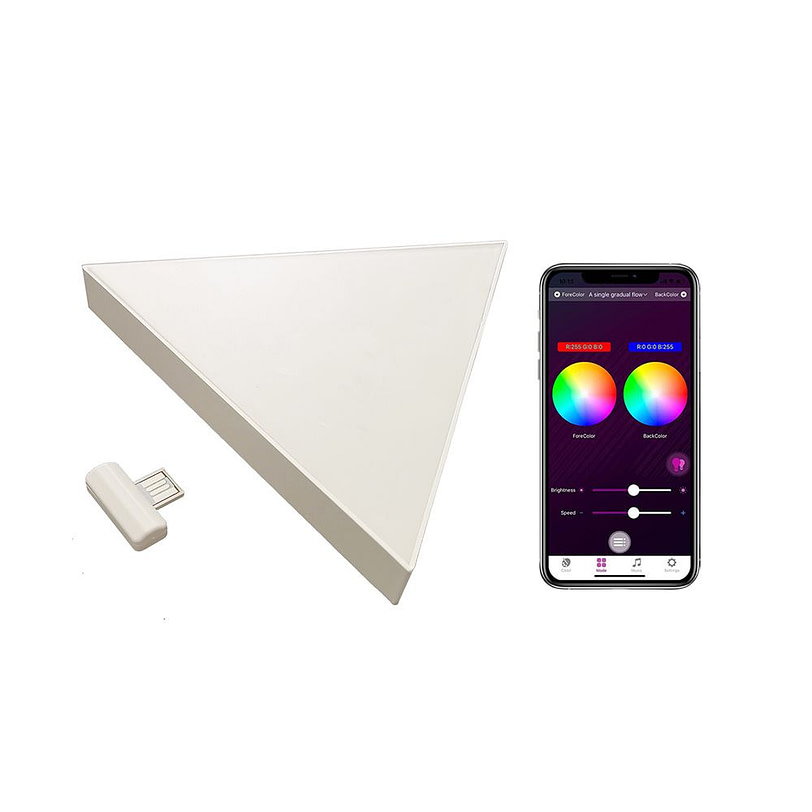 Triangle Wall LED Light 02