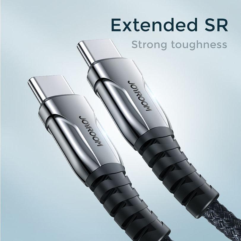 Joyroom S 1830K1 Braid USB C Extension Charging Cable 5 1
