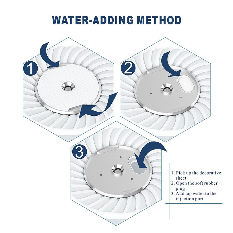 K9 Air Humidifier Indoor Air Purifier White 6 3
