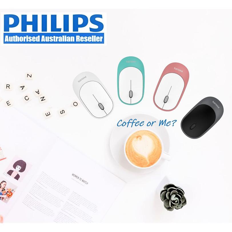 Philips SPK7314 Quiet Slim Mouse Detail 01