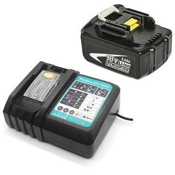 Makita 18V Battery with Charger 01
