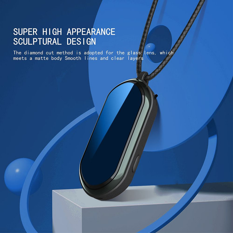F9 Negative Ion Wearable Air Purifier Necklace 8