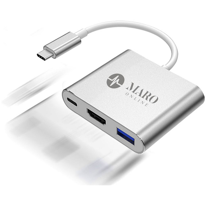 Maro 3 in 1 Type C USB HDMI Adapter 01