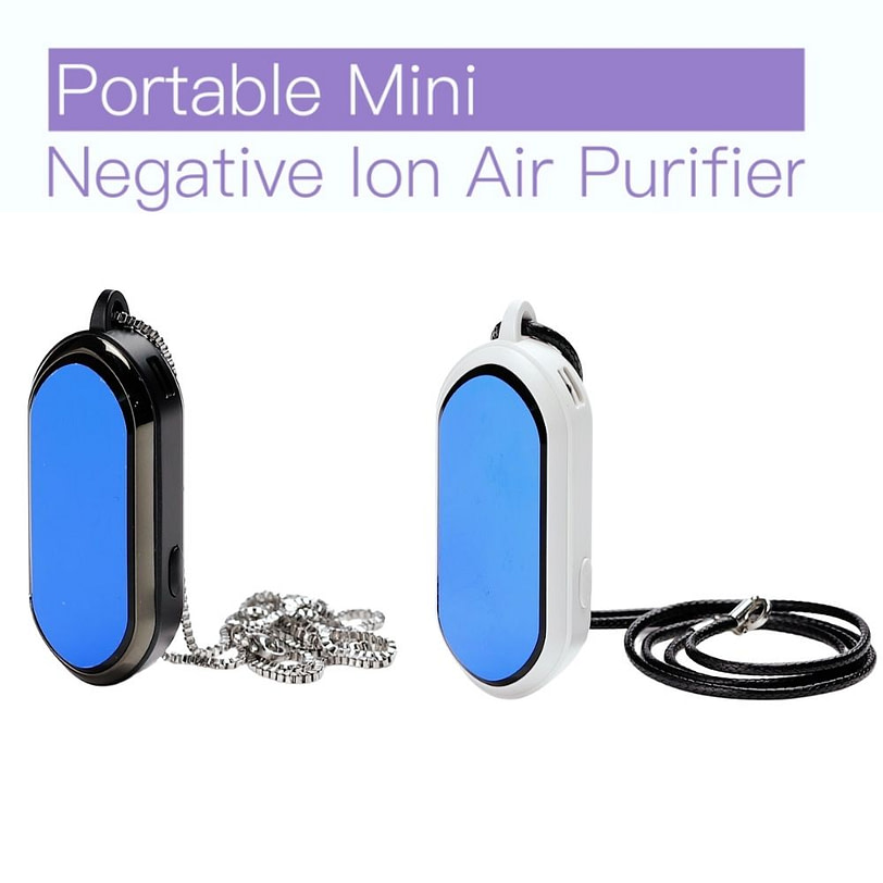 F9 Negative Ion Wearable Air Purifier Necklace 15