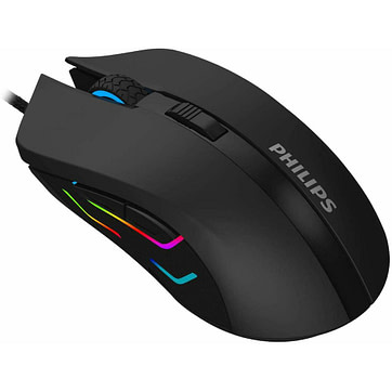 Philips SPK9313 Wired Gaming Mouse with Ambiglow 01