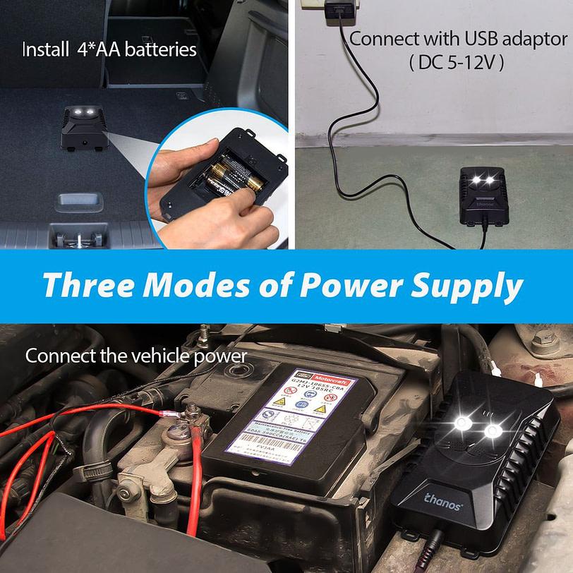 AR28 Battery Operated Ultrasonic Pest Repeller 3