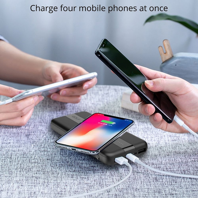 Golf PB W21 Fast Charge Wireless Power Bank Portable Charger 8 2