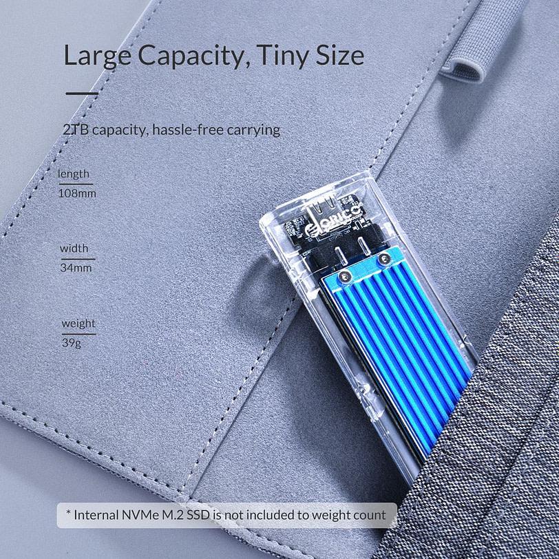 Orico TCM2 C3 M.2 NVMe SSD Enclosure 1