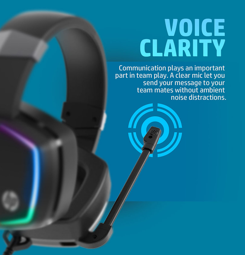 HP H320GS Stereo Gaming Headset with Microphone 6