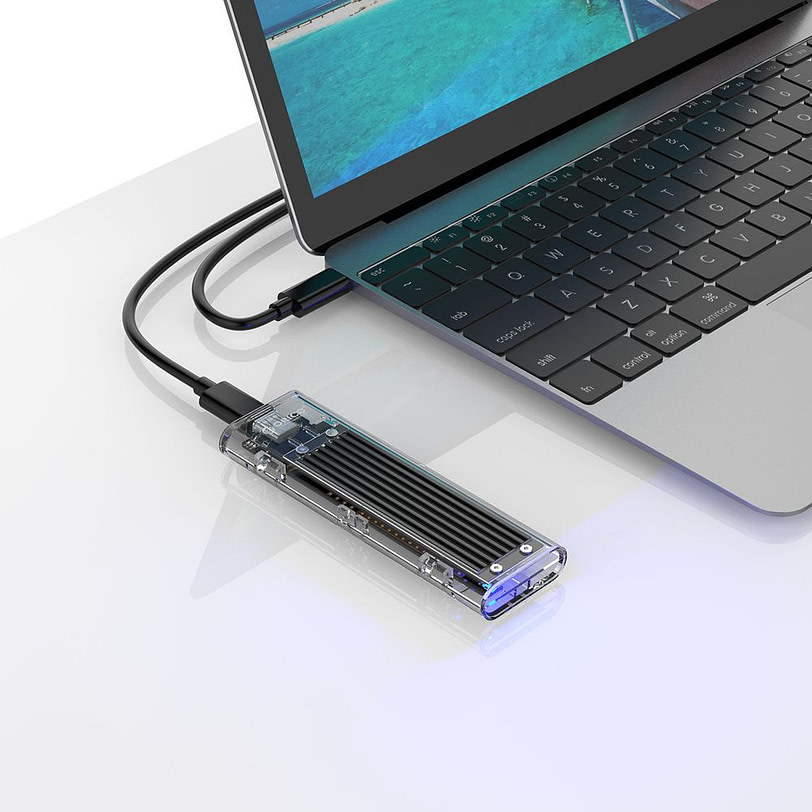 Orico TCM2 C3 M.2 NVMe SSD Enclosure 13