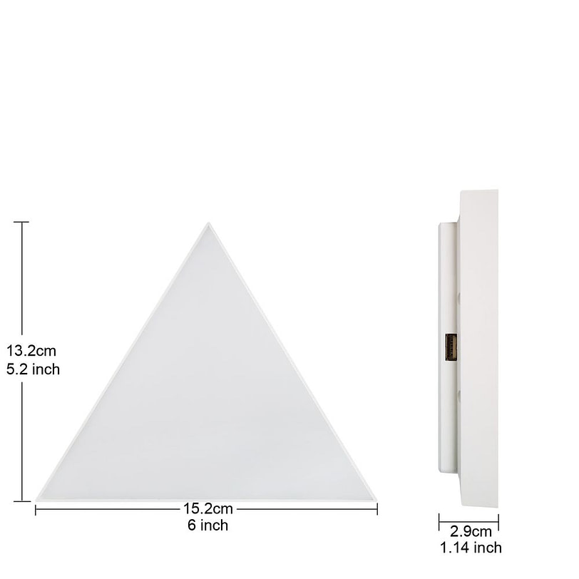 Triangle Wall LED Light 03