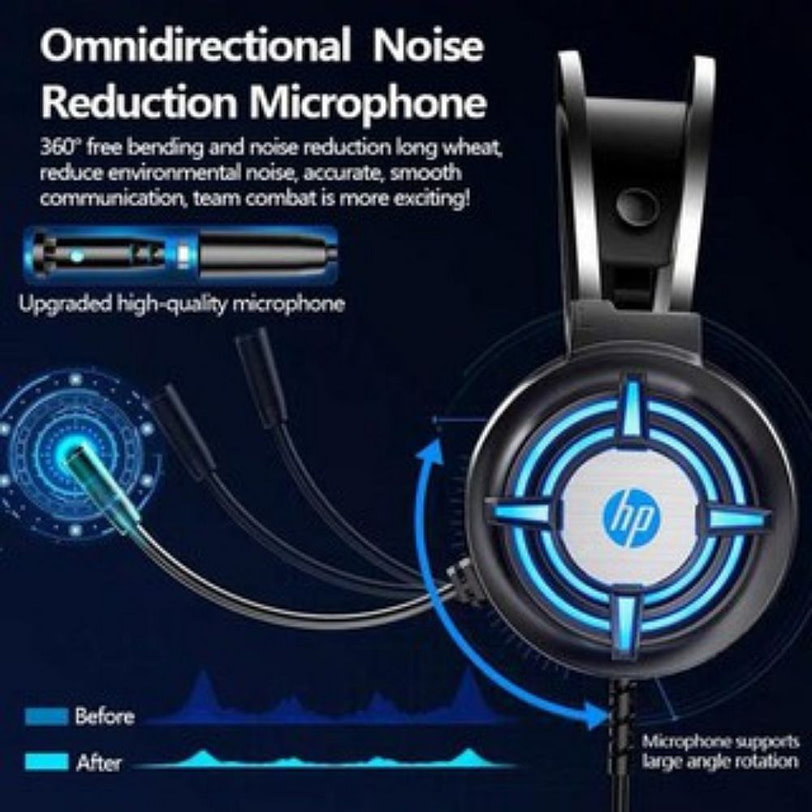 HP H120 Wired Gaming Headset 3