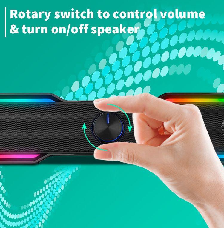 Maro Bluetooth Surround Soundbar Detail 04